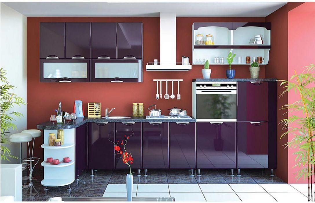 Кухня угловая «Люкс 4,3м» Сокме