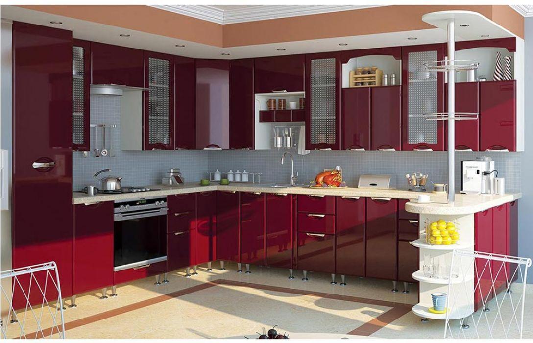 Кухня угловая «Люкс 7,2м» Сокме
