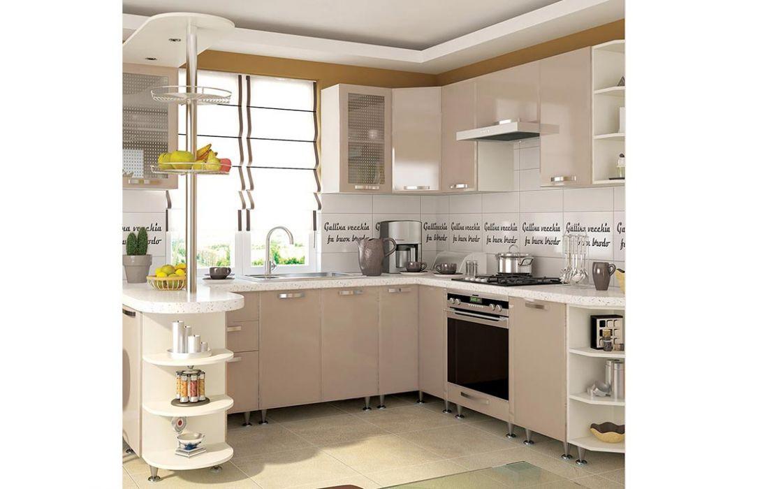 Кухня угловая «Престиж 5,8м» Сокме