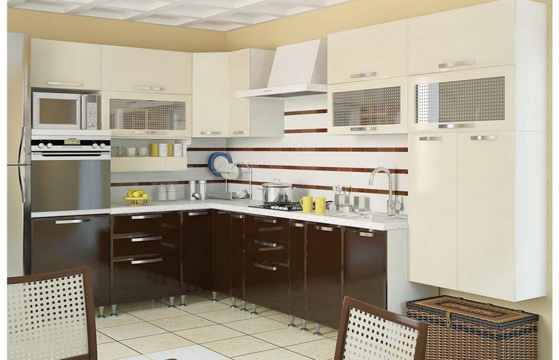 Кухня угловая «Престиж 5,6м» Сокме