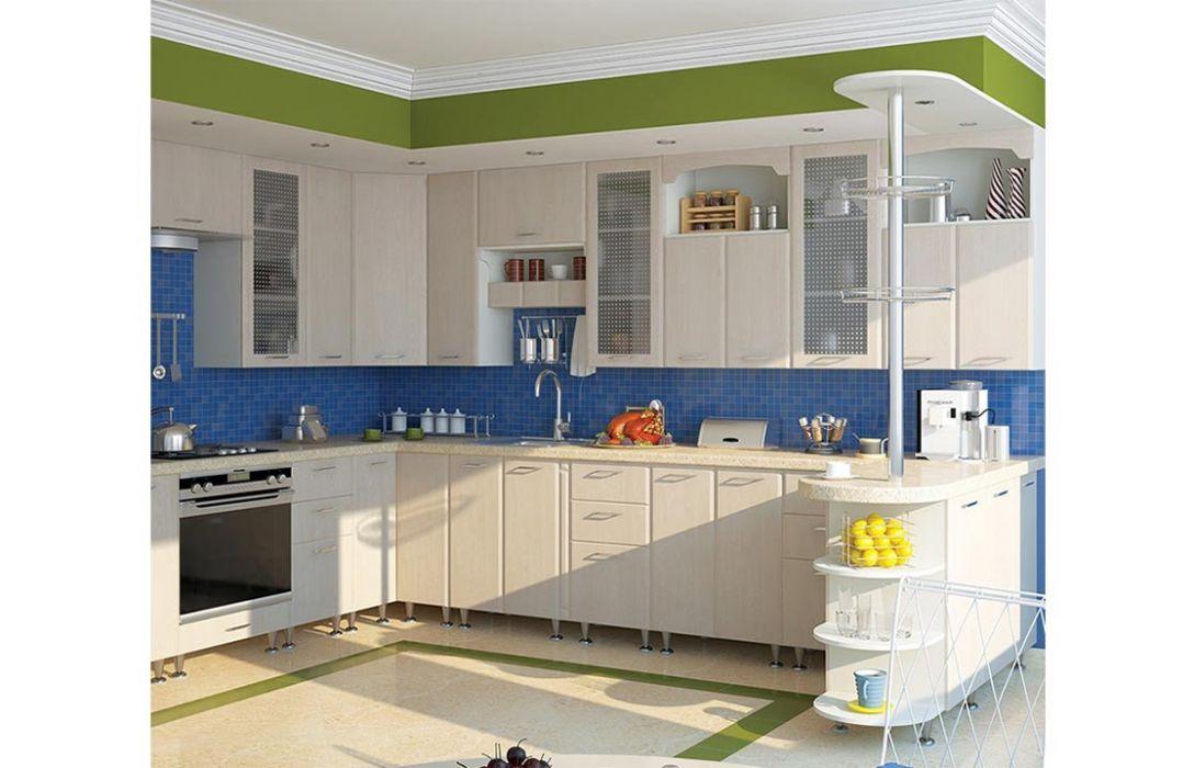 Кухня угловая «Престиж 6,4м» Сокме
