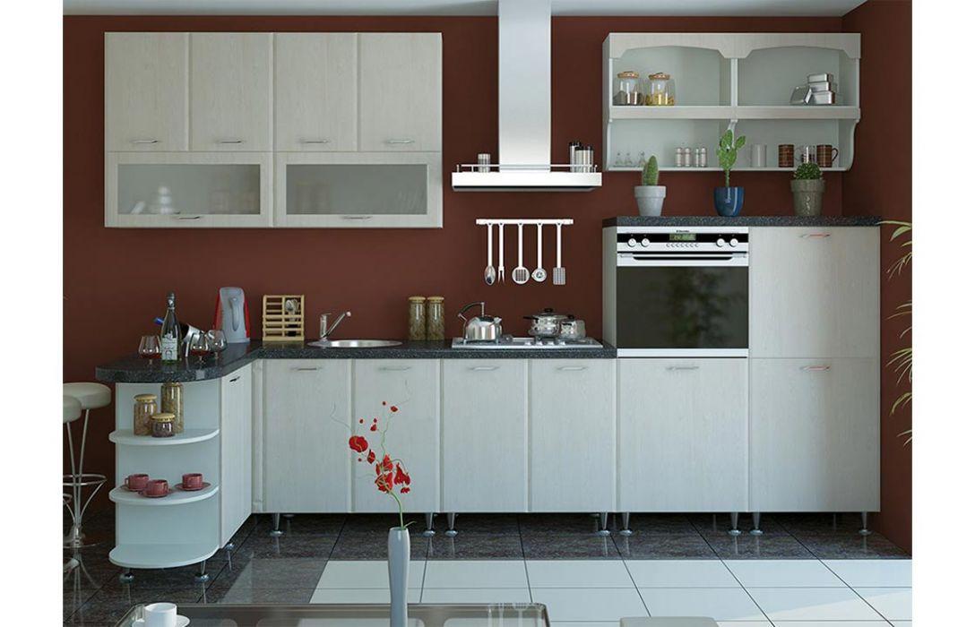Кухня угловая «Градо 4,3м» Сокме