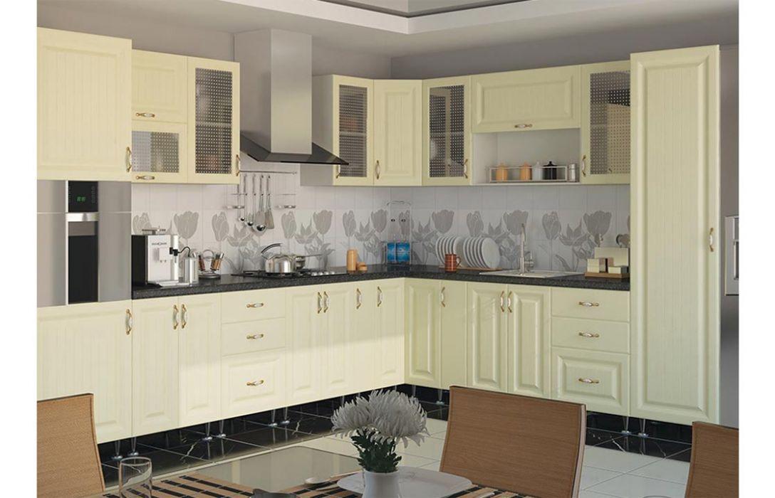 Кухня угловая «Романтика 5м» Сокме