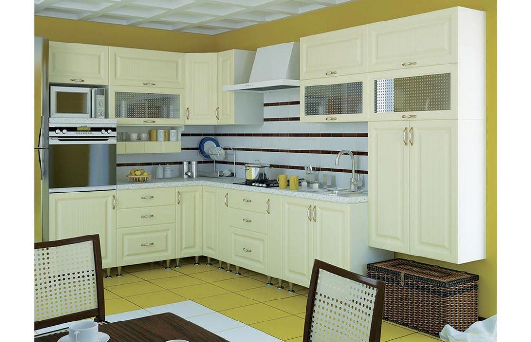 Кухня угловая «Романтика 4,8м» Сокме