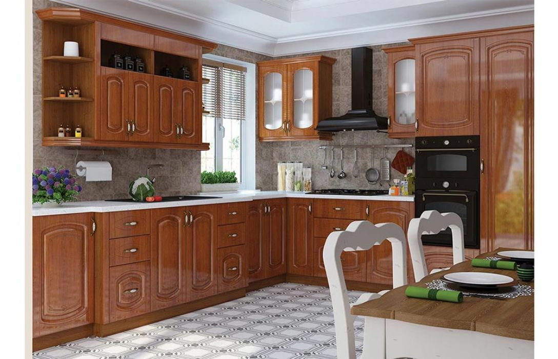Кухня угловая «Бавария 5,5м» Сокме