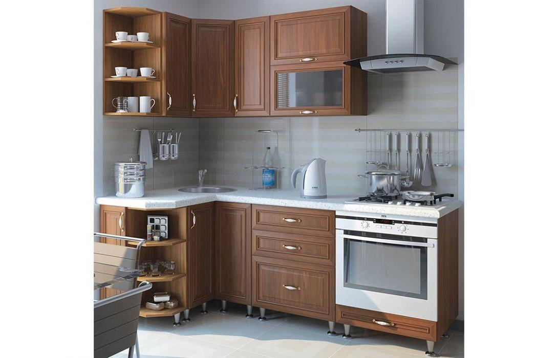 Кухня угловая «Классика 3,5м» Сокме