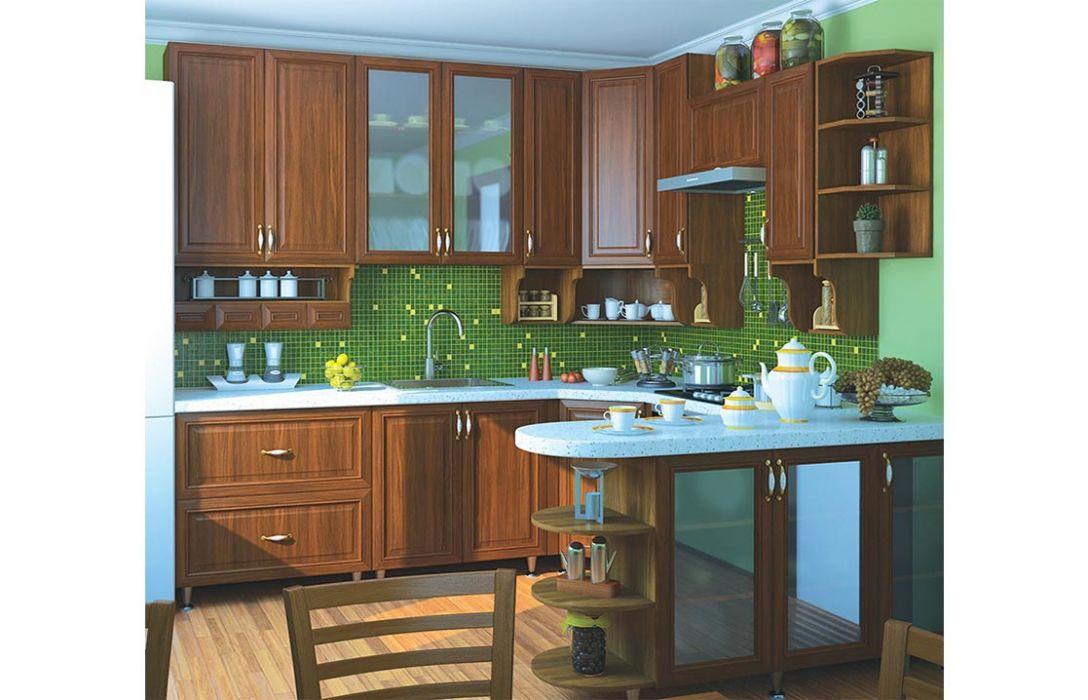 Кухня угловая «Классика 5,7м» Сокме