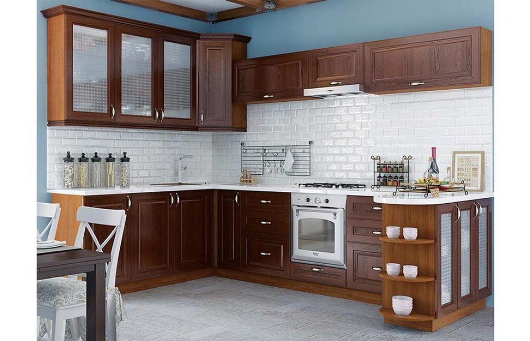 Кухня угловая «Классика 4,9м» Сокме