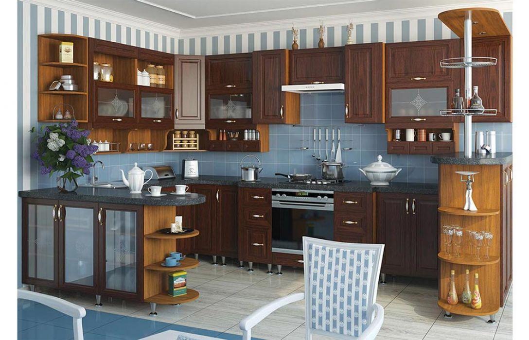 Кухня угловая «Классика 6,3м» Сокме