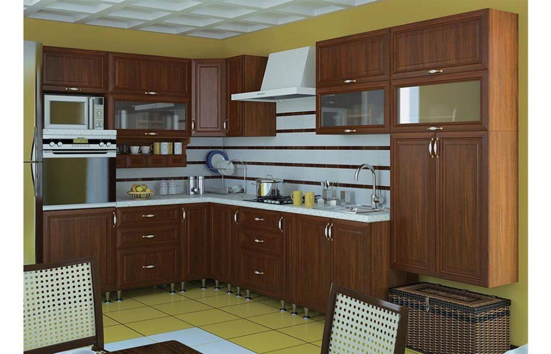 Кухня угловая «Классика 4,8м» Сокме