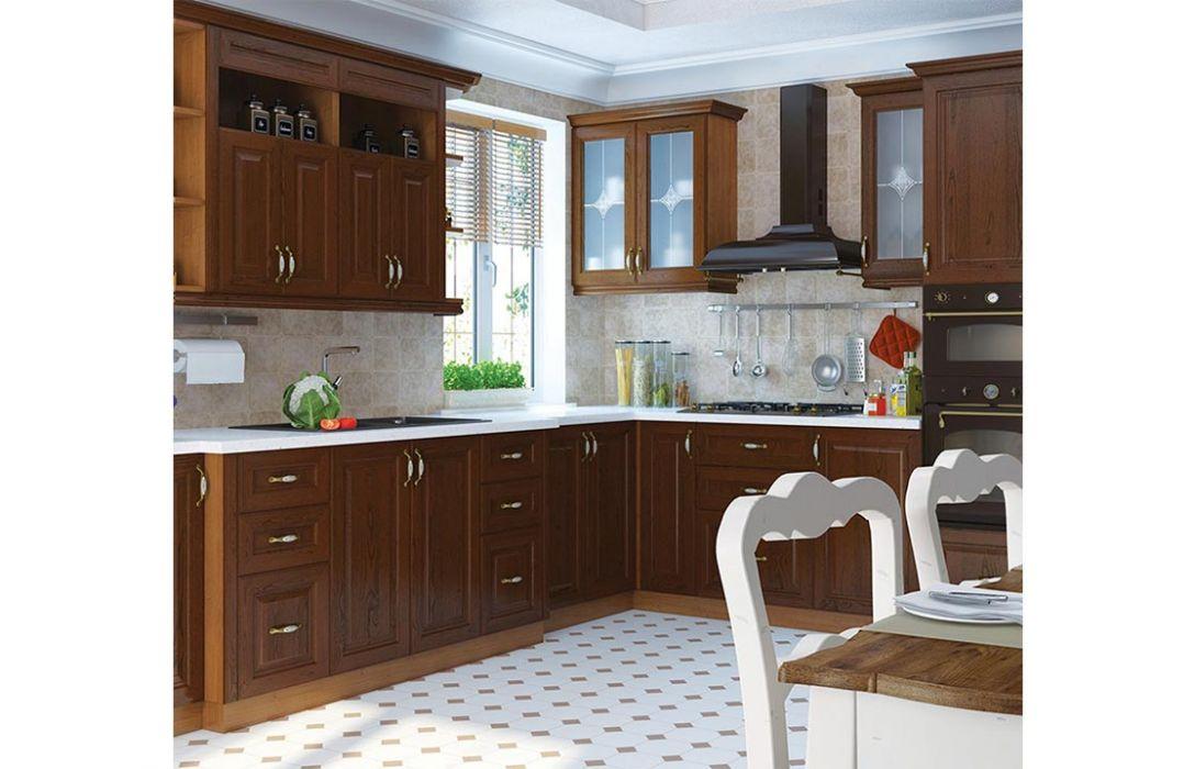 Кухня угловая «Классика 5,4м» Сокме