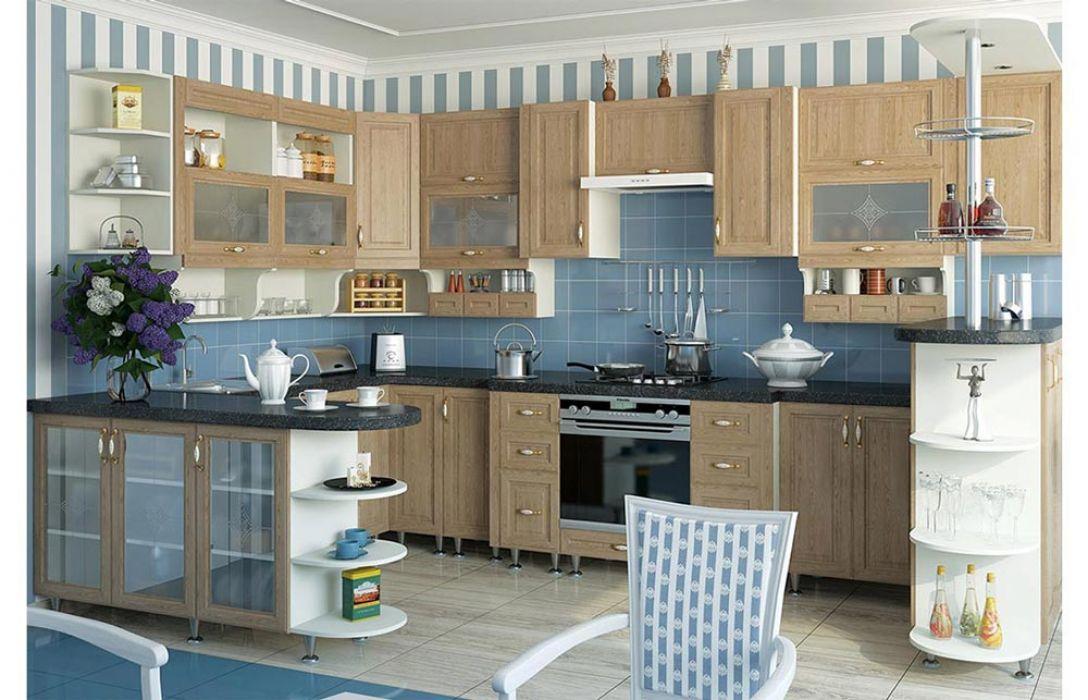 Кухня угловая «Классика 6,1м» Сокме