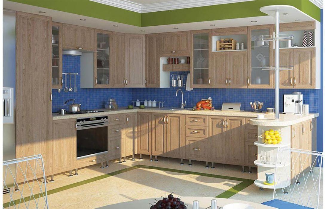 Кухня угловая «Классика 6,9м» Сокме