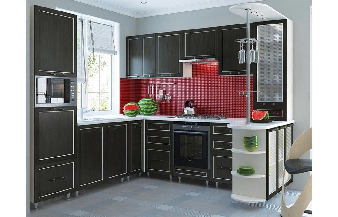 Кухня угловая «Плаза 4,8м» Сокме
