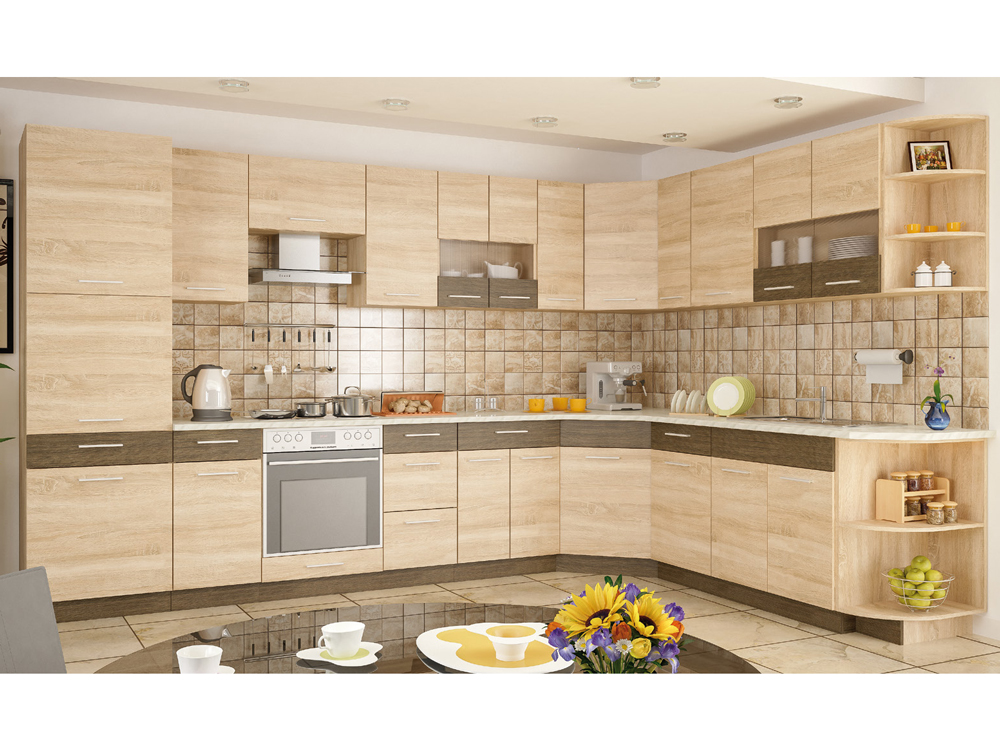 Кухня угловая «Грета» МС