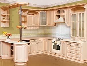 Кухня угловая «Валенсия» СМ