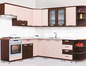 Кухня угловая «Терра» СМ