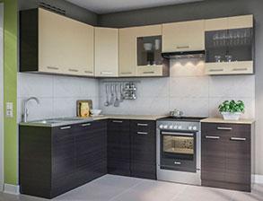 Кухня угловая  «Марта 1,7м*2,5м венге» СМ