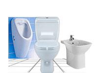 Санфаянс для туалета