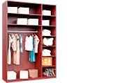Шкафы-гардеробы без дверей