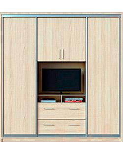 Шкафы купе с ТВ