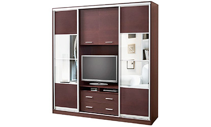 Шкаф купе для ТВ