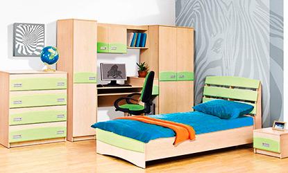 Готовые детские спальни