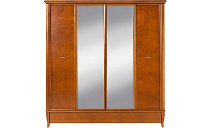 Распашные шкафы с зеркалом