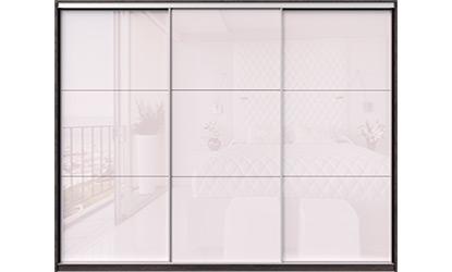 Белые шкафы купе