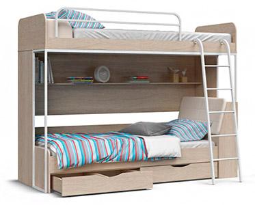 Двоярусні ліжка