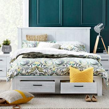 Спальні гарнітури білого кольору