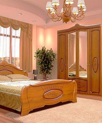 Спальня Катрін патіна
