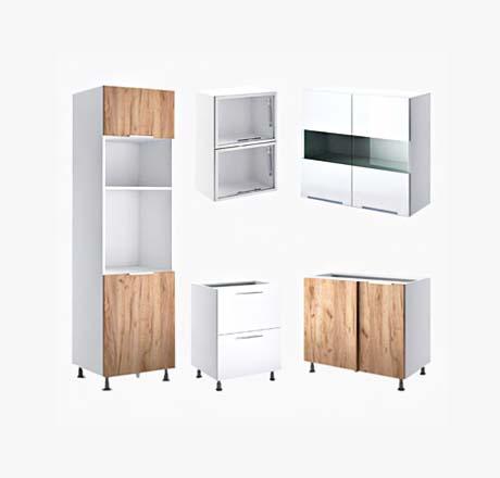 Кухонні шафи та ящики