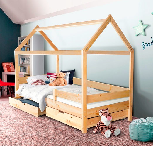 Ліжка-будиночки
