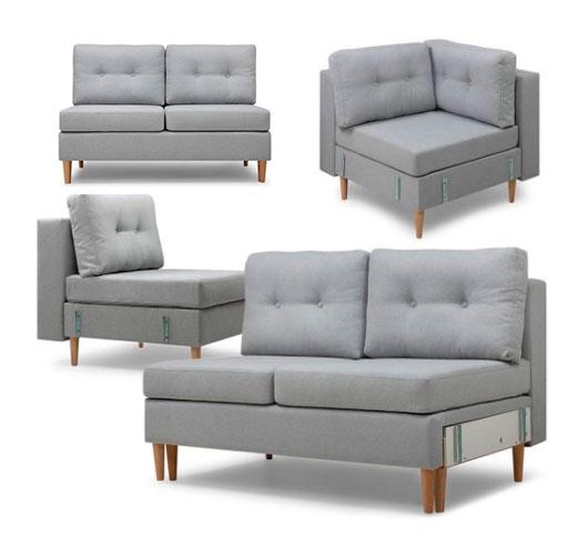 Модульні дивани