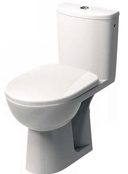 Фото Компакт напольный M39021 «Nova Pro» 6/3 л | дюропластовое сиденье | округлая форма бачка Kolo - sofino.ua