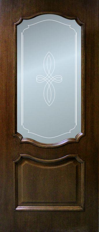 Фото Двери шпонированные Кармен СС+КР «Классика» 60 ДНТ Омис - sofino.ua