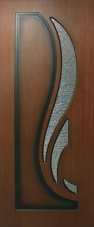 Фото Двери шпонированные Лотус СС «Классика» 60 FL Орех Омис - sofino.ua