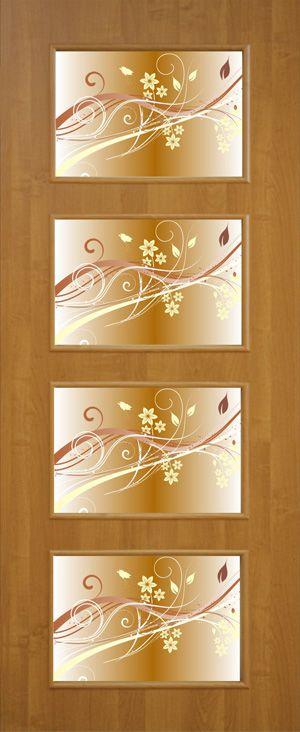 Фото Двери ламинированные «Альта-3 ФП» 60 Омис - sofino.ua