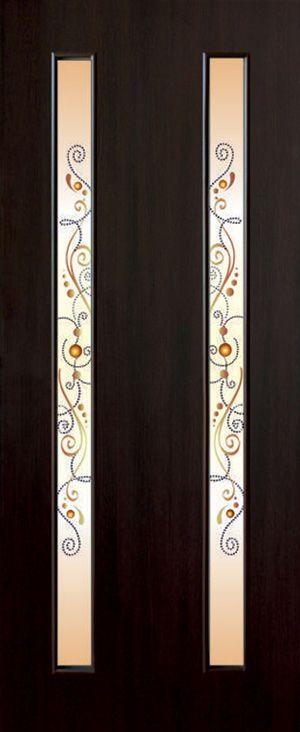 Фото Двери ламинированные «Вероника ФП» 60 Омис - sofino.ua