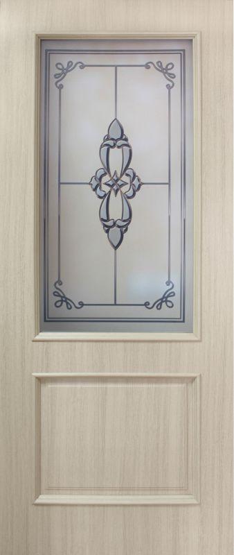 Фото Двери ПВХ «Версаль СС+ФП» 60 Омис - sofino.ua