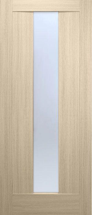 Фото Двери ПВХ Троя стекло «Призма» 60 Омис - sofino.ua