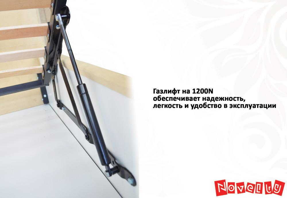 Фото Кровать «Спарта» 140*200 каркас + механизм Novelty - sofino.ua