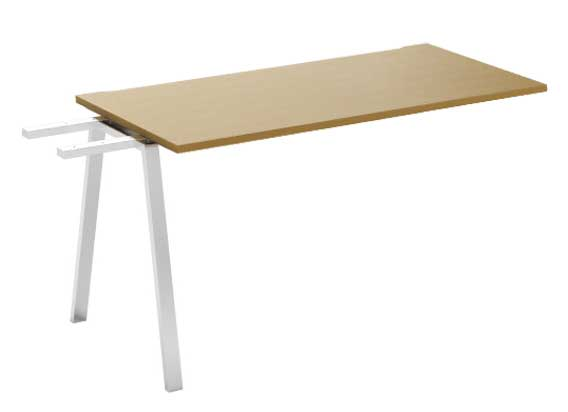 Фото Модуль промежуточный стола письменного MN101V2 «Megan» 100 Nowy styl - sofino.ua