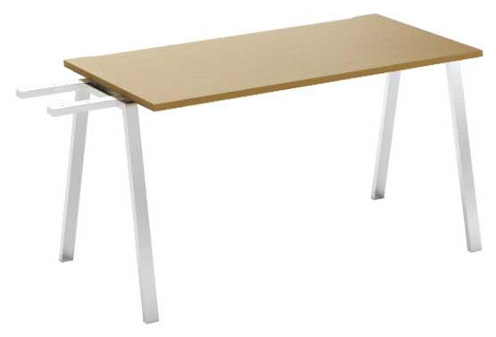 Фото Модуль завершающий стола письменного MN103V3 «Megan» 140 Nowy styl - sofino.ua