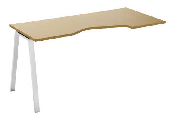 Фото Модуль стартовый стола письменного углового MN202V1 R «Megan» 80*120 Nowy styl - sofino.ua