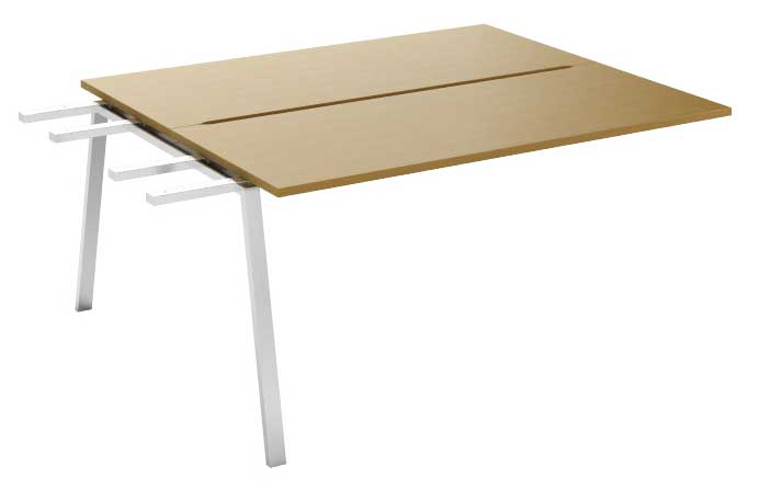 Фото Модуль промежуточный стола письменного двухстороннего MN105V2 «Megan» 120 Nowy styl - sofino.ua
