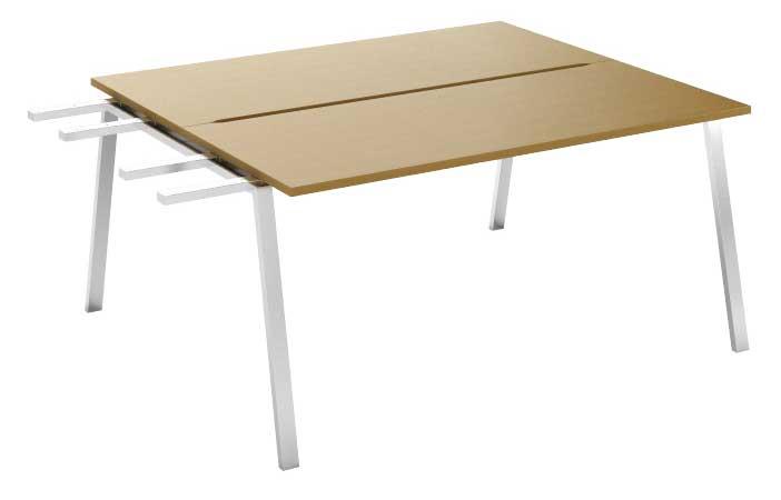 Фото Модуль завершающий стола письменного двухстороннего MN105V3 «Megan» 120 Nowy styl - sofino.ua