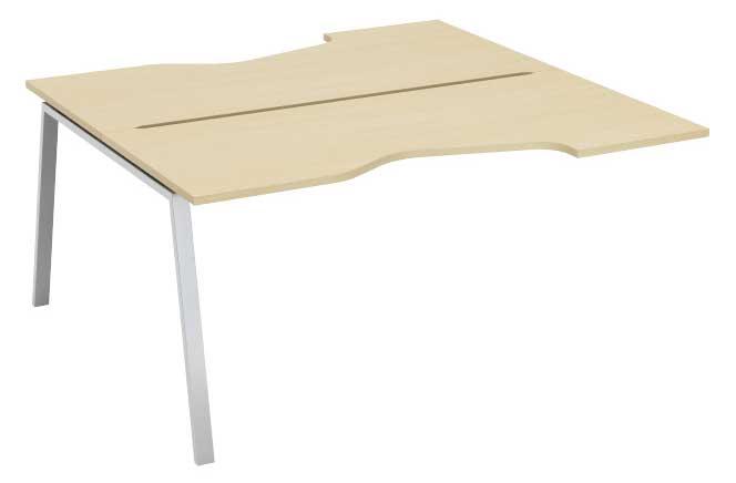 Фото Модуль стартовый стола письменногоуглового двухстороннего MN207V1 «Megan» 120 Nowy styl - sofino.ua