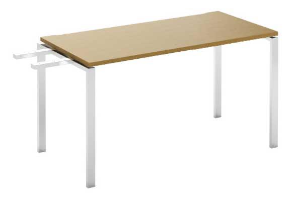 Фото Модуль завершающий стола письменного MN103W3 «Megan» 140 Nowy styl - sofino.ua